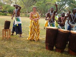 J'étais invitée au NEPAD à Kigali, pour la représentation des artistes du Burundi.